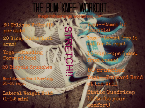 Bum Knee Workout