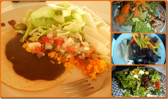 Mexi Salad Collage