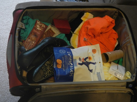 You can see the somersaults in my old suitcase picture, I supppose
