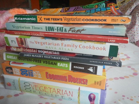 Perks of being an aspiring cook, living in a kind vegetarian-packed city, and telling everyone you know about it.  (Most of these were free.)